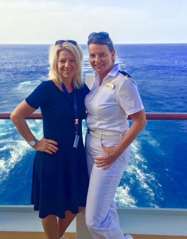 Reise Team Fürstenau testet neues Kreuzfahrtschiff AIDAnova